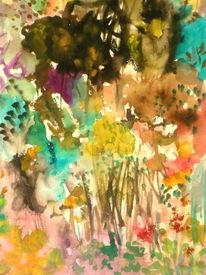 Farben, Blumen, Bunt, Zeichnung