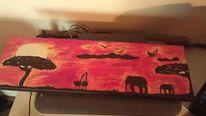 Afrika, Sonnenuntergang