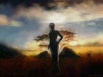 Fantasie, Digitale kunst, Surreal, Afrika