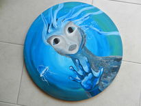 Qualle, Wasser, Unterwasser, Meermensch