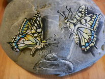 Tiere, Wasser, Schmetterling, Tropfen