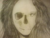 Augen, Schädel, Kopf, Zeichnungen