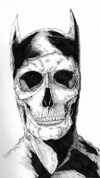 Tod, Schwarz weiß, Comic, Zeichnungen