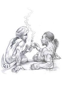 Joint, Bleistiftzeichnung, Religion, Zeichnungen