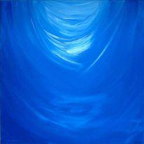 Hoffnung, Energie, Hilfe, Blau