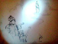 Licht, Zeichnungen, Aufbruch