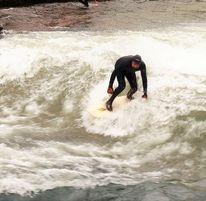 Surfen, München, Fluss, Sport