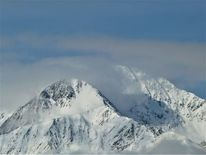 Berge, Panorama, Schnee, Winter