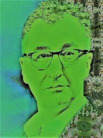 Farben, Grün, Menschen, Allegorie