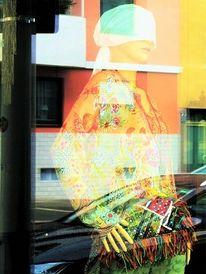 Spiegelung, Architektur, Mode, Farben
