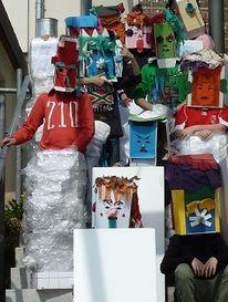 Gestaltung, Maskenpflicht, Menschen, Maske