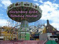 Botschaft, Korona, Nürnberg 2025, Rotierender markt