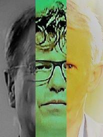Mann, Politische farbenlehre, Gesicht, Synthese