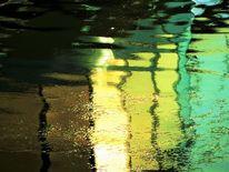 Fluss, Licht, Donau, Spiegelung