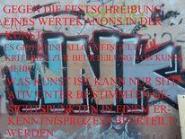 Fotografie, Festschreibung, Thesen zum kunstbetrieb, These v