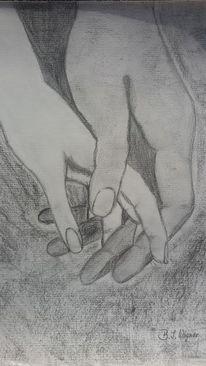 Zuneigung, Vertrauen, Berührung, Traum