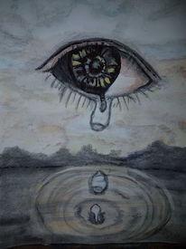 Wein, Zukunft, Leuchten wolken, Tränen