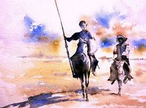 Don quijote, Mancha, Spanien, Ritter