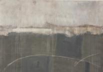 Weiß, Acrylmalerei, Abstrakt, Wellpappe