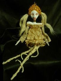 Futuristisch, Puppe, Art doll, Textilkunst