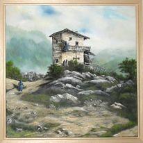 Berge, Gipfel, Tirol, Einsamkeit