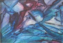 Fantastische malerei, Abstrakt, Künstlerlexikon, Dispersion