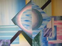 Malerei, Raum, Zeit, Materie