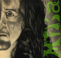 Mann, Portrait, Zeichnung, Menschen