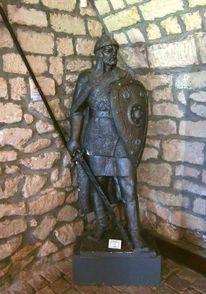 Mann, Statue, Ritter, Menschen