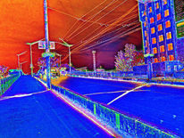 Straße, Welt, Digitale kunst