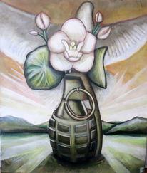 Friedenstaube, Wandel, Krieg, Frieden