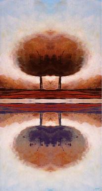 Digitale kunst, Herbst, Digital, Natur modern