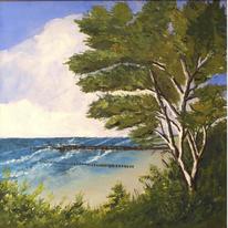 Natur modern, Landschaft, Ostsee, Malerei
