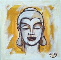 Modern, Zeitgenössische kunst, Farben, Portrait