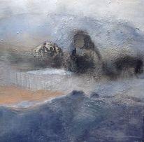 Berge, Sand, Meer, Malerei