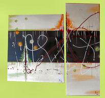 Explosion, Malerei,