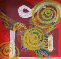 Malerei, Taube