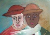 Von hoffnung, Ein moment, Malerei, Freunde