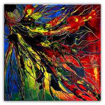 Malen, Acrylmalerei, Abstrakte kunst, Malerei