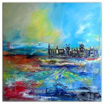Amsterdam, Abstrakt, Acrylmalerei, Malerei