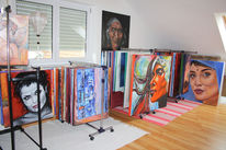 Öl bilder, Malerei, Ölmalerei, Pinnwand