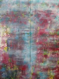 Transparenz, Kontrast, Strukturpaste, Farben
