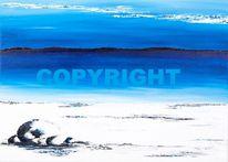 Acrylmalerei, Verkäuflich, Landschaft, Malerei