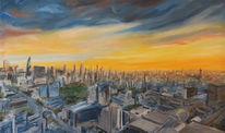 Skyline, Malerei