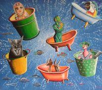 Acrylmalerei, Malerei, Modern art, Gemälde