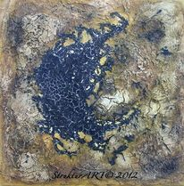 Marmormehl, Pigmente, Zeitgenössische kunst, Tuschmalerei