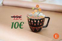 Keramik, Tasse, Töpferei, Dekoration