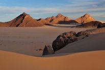Sand, Monochrom, Berge, Wüste