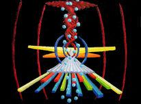 Malerei, Abstrakt, Ölfarben, Synästhesie