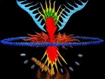 Synästhesie, Malerei, Ölfarben